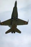 Kämpe för stråle för McDonnell Douglas F/A-18 bålgeting F 18 Arkivfoton