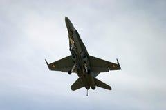 Kämpe för stråle för McDonnell Douglas F/A-18 bålgeting F 18 Royaltyfri Foto