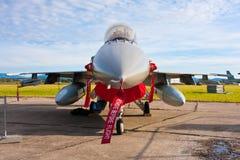 Kämpe för stråle F-16 Royaltyfri Foto