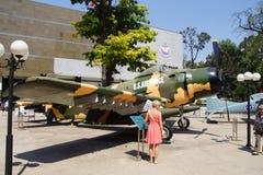 Kämpenivå för amerikan A1 Skyraider Royaltyfri Bild