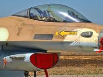 Kämpenivå för stråle F-16 Royaltyfri Bild