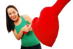 Kämpfen für Liebe Lizenzfreies Stockfoto