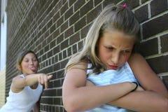Kämpfende Mädchen Stockbilder