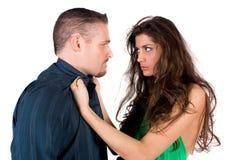 Kämpfende Paare Lizenzfreie Stockfotografie