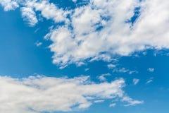 Kämpfende Wolke Stockfoto