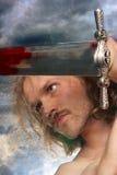 Kämpfender Krieger Lizenzfreies Stockbild