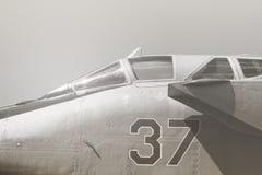Kämpfendes Jet-Kabinen-Weinlesefoto Lizenzfreie Stockfotos