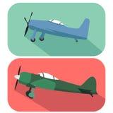 Kämpfer-Kampfflugzeuge Lizenzfreies Stockfoto