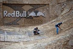 Kämpfer-Logo Red Bulls X Lizenzfreie Stockbilder