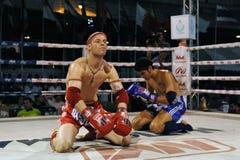Muaythai Weltmeisterschaften Stockfotografie