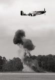Kämpferflugzeug Lizenzfreies Stockfoto