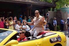 Kändisgästen Billy Dee Williams under Star Wars tillbringar veckoslutet 2014 royaltyfria foton