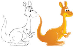 Känguru lizenzfreie abbildung