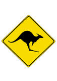 Känguru Vektor Abbildung