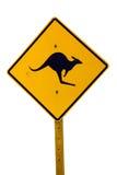 Känguru-Zeichen Stockfotografie