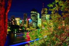 Känguruklippor och Brisbane flod Royaltyfria Bilder