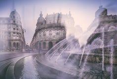 Känsel av Genova Fotografering för Bildbyråer
