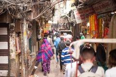 Känsel gamla Delhi Royaltyfri Foto