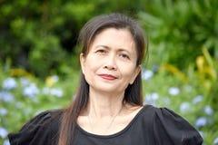 Känslolös kvinnlig pensionär Gramma royaltyfri fotografi