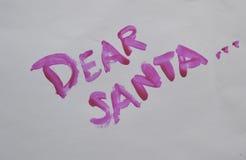 kära santa Fotografering för Bildbyråer