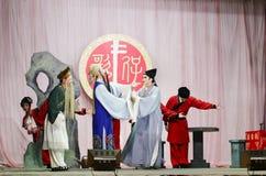 Kärlekshistoria för taiwanesisk opera Arkivbild