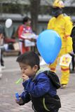 kärn- anti demonstration Royaltyfria Bilder