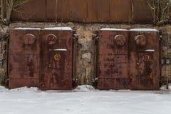 Kärn- bunker arkivfoto