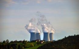 Kärn- kraftverk #1 royaltyfri fotografi