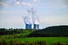 Kärn- kraftverk #8 royaltyfri bild