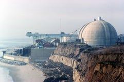 Kärn- kraftverk San Onofre Arkivbild