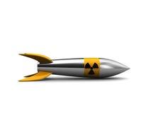 kärn- missil Arkivfoto
