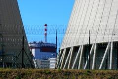 kärn- station för ström 18 Arkivfoto