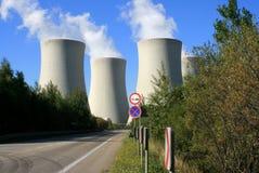 kärn- station för ström 21 Arkivbild