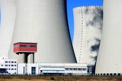 kärn- station för ström 23 Arkivbild
