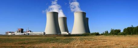 kärn- station för ström 3 Arkivbild
