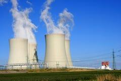 kärn- station för ström 6 arkivfoton