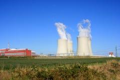 kärn- station för ström 7 Fotografering för Bildbyråer