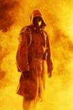 Kärn- stolpeapokalyps Arkivfoto
