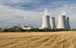 kärn- strömstation Royaltyfri Bild