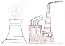 kärn- växtström royaltyfri illustrationer