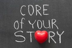 Kärna av din berättelse Fotografering för Bildbyråer