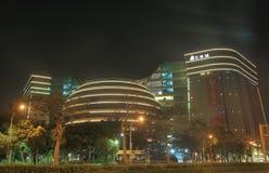 Kärna ur den bosatta gallerian för den Stillahavs- staden som shoppar Taipei Taiwan Arkivfoton