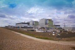 Kärnkraftelektricitetsstation på Dungeness i Kent Royaltyfri Foto