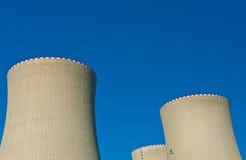 Kärnkraftverk Fotografering för Bildbyråer