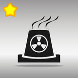 Kärnkraftverk Stock Illustrationer