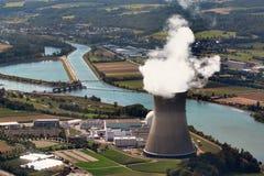 Kärnkraftverk Leibstadt royaltyfria bilder