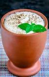Kärnmjölk indisk drink royaltyfria bilder