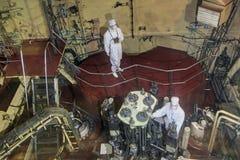 Kärnreaktor royaltyfria foton