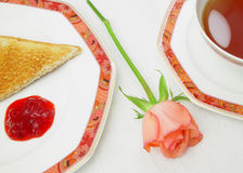 kärt mitt för frukost Royaltyfri Bild