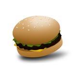 Käse-Burger Lizenzfreies Stockbild
